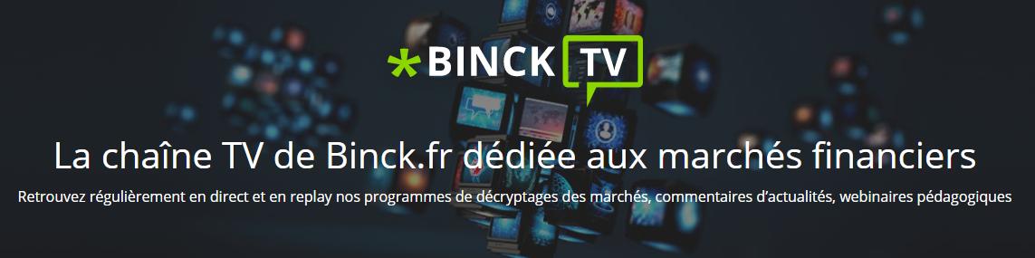 binck tv