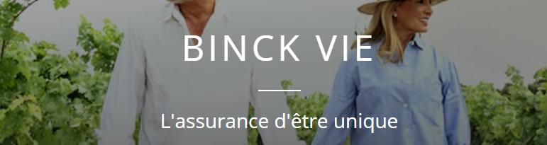 binck vie assurance