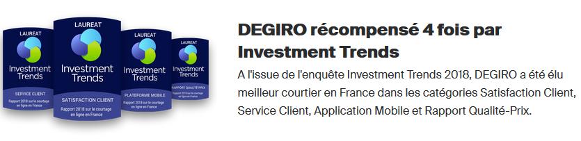 degiro service client