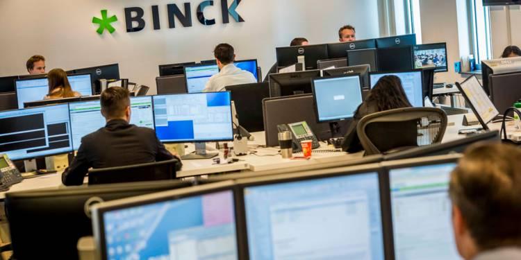 binckbank racheté